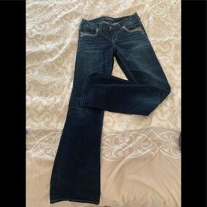 Silver Suki Jeans Boot Leg Size 29